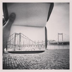 mülheimerbrücke sketchbook