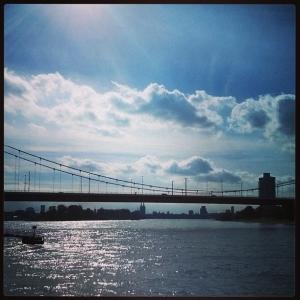 22.9.2013 Der Rhein. Wie hübsch.